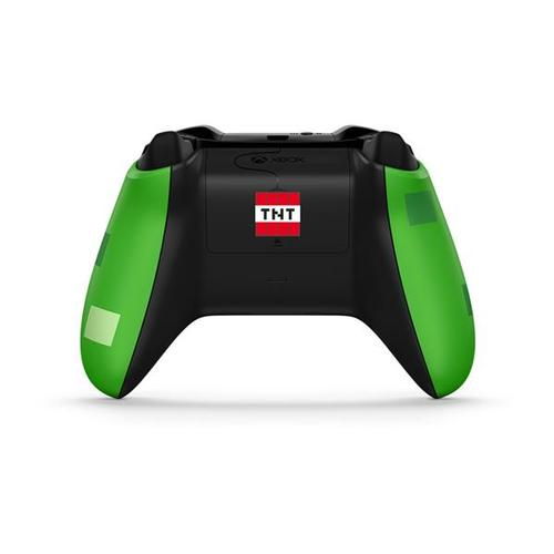 Microsoft Xbox One Wireless Controller (Minecraft Creeper)