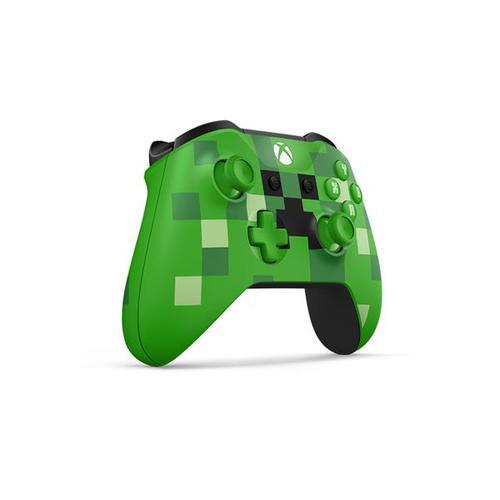 Microsoft Xbox One Wireless Controller (Minecraft Creeper)