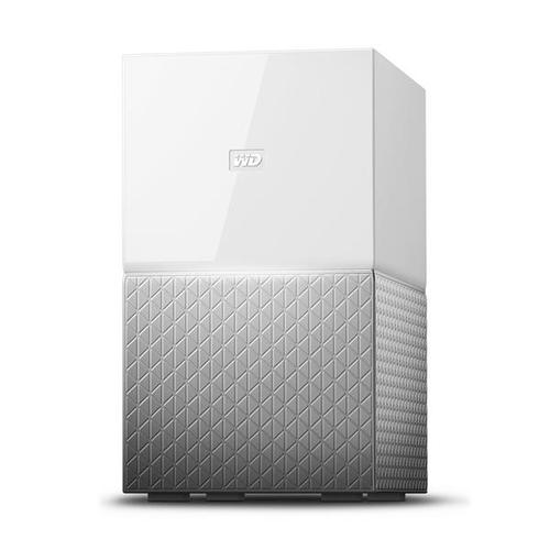 WD 8TB 2x4TB My Cloud Home Duo Network Attached Storage Device NAS Server