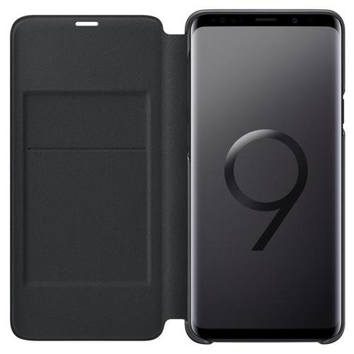 Samsung Galaxy S9+ LED View Standing Cover - Black