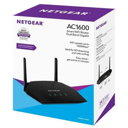 Netgear AC1600 Smart WiFi Router Dual