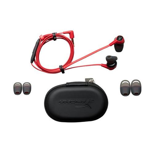HyperX Cloud Earbuds with Mic for Nintendo Switch and Mobile Gaming