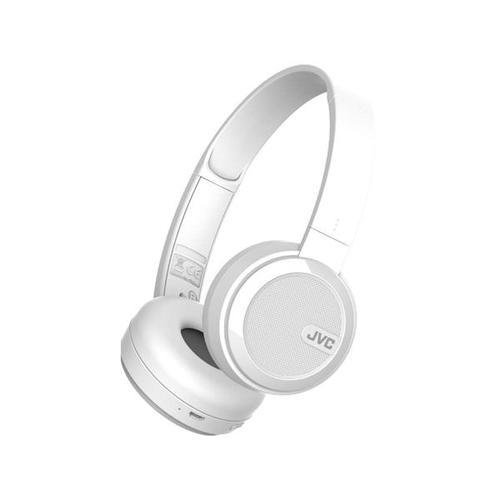 JVC HA-S40BT Bluetooth On Ear Headphones (White)