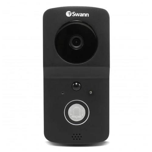 Swann Wire-Free 720p HD Smart Video Doorbell (Black)
