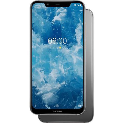 Nokia 8.1 (6.18 inch) 64GB Smartphone (Iron/Steel)