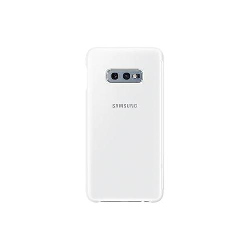 Samsung EF-ZG970 Clear View Cover (White) for Galaxy S10e