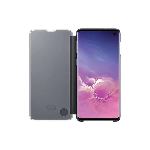 Samsung Galaxy S10 Clear View Case - Black