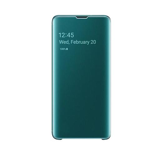 Samsung Galaxy S10 Clear View Cover - Green