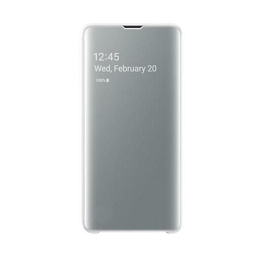 Samsung EF-ZG973 Clear View (White) for Galaxy S10
