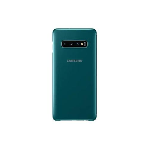 Samsung Galaxy S10+ Clear View Cover - Green