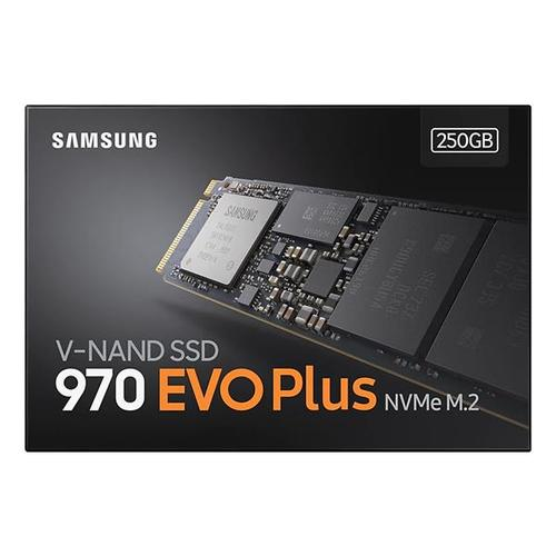 Samsung 970 Evo Plus 250GB PCI Express M.2 Solid State Drive Internal - 3500MB/s