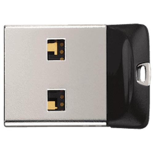 SanDisk Cruzer Fit 64GB USB 2.0 Flash Drive - Black