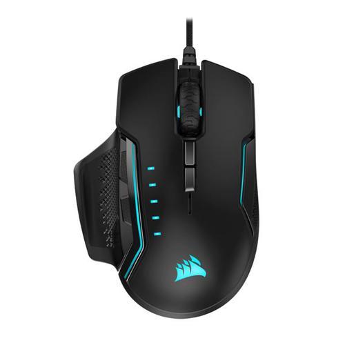 Corsair GLAIVE RGB PRO Gaming Mouse (Black) EU