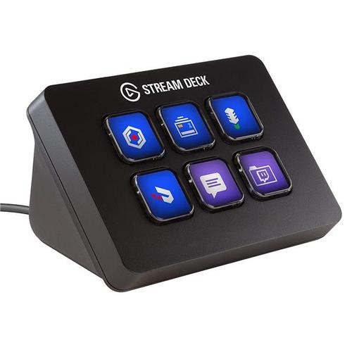 Elgato Stream Deck Mini Live Content Creation Controller 6 Customizable LCD Keys Win/Mac