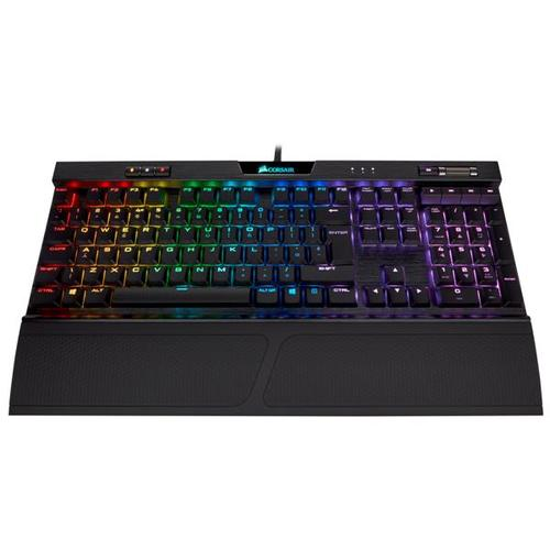 Corsair K70 RGB MK.2 Low Profile Mechanical Gaming Keyboard - CHERRY MX Low Profile Red (UK)