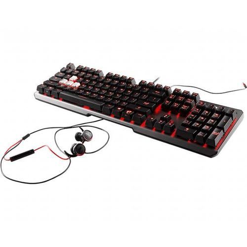 MSI VIGOR GK60 Gaming Keyboard - CHERRY MX Red Switches (UK)