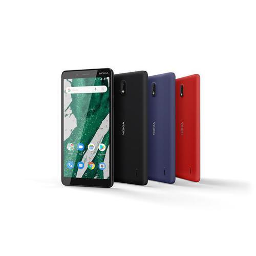 Nokia 1 Plus (5.45 inch) 8GB 8MP Smartphone (Black)