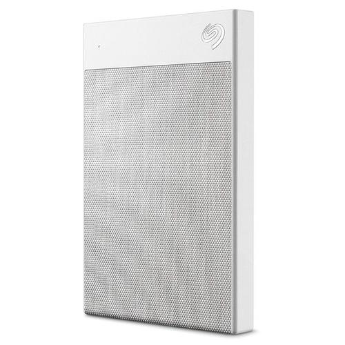 Seagate 2TB Backup Plus Ultra Touch USB 3.0/USB-C Portable HDD External (White)