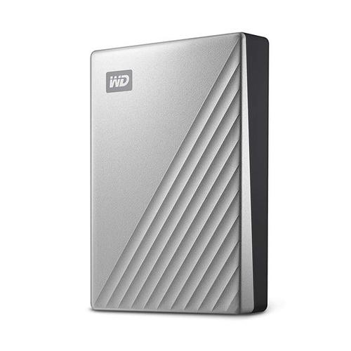 "WD 2TB My Passport Ultra USB-C 2.5"" Portable Hard Drive External (Silver)"