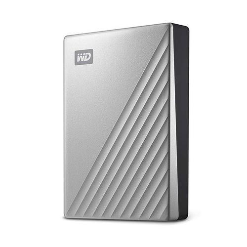 WD 1TB My Passport Ultra USB-C Portable Hard Drive External - Silver