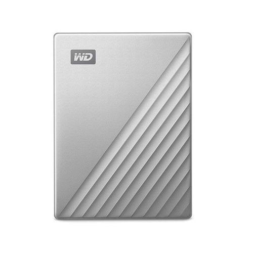 "WD 1TB My Passport Ultra USB-C 2.5"" Portable Hard Drive External (Silver)"