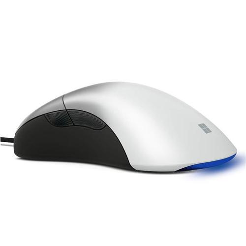 Microsoft Pro IntelliMouse Pro USB PC Mouse - White Shadow