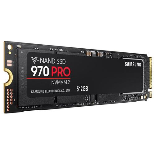 Samsung 512GB SSD 970 PRO Internal M.2 PCIe SSD - 3500 MB/s