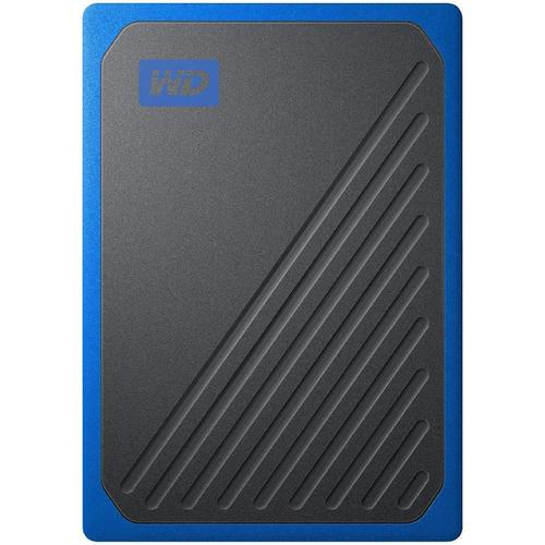WD 1TB My Passport Go Portable SSD Drive - Black/Blue