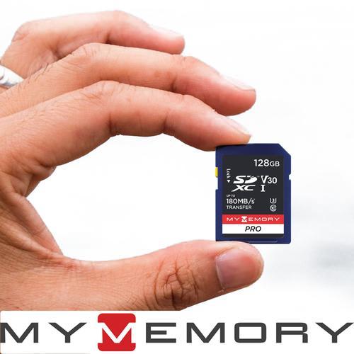 MyMemory 128GB V30 PRO SD Card (SDXC) Class 10 UHS-I U3 - 180MB/s