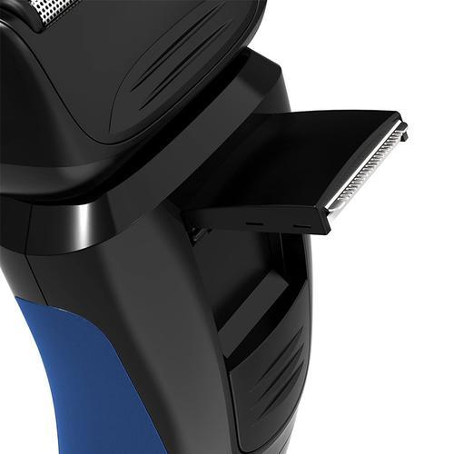 Remington Mens Cord/Cordless Comfort Series Aqua Shaver - Blue/Black