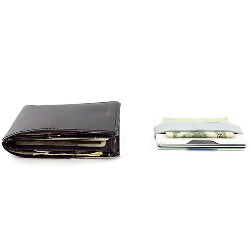 Radix One Slim Wallet - White Gray