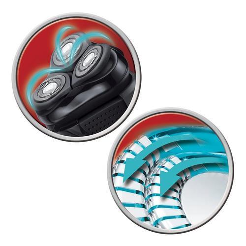 Remington PowerSeries AquaPlus Electric 360 Rotary Shaver (PR1340) - Black