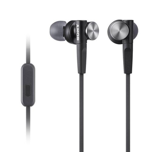 Sony MDR-XB50AP In-Ear Extra Bass Headphones - Black