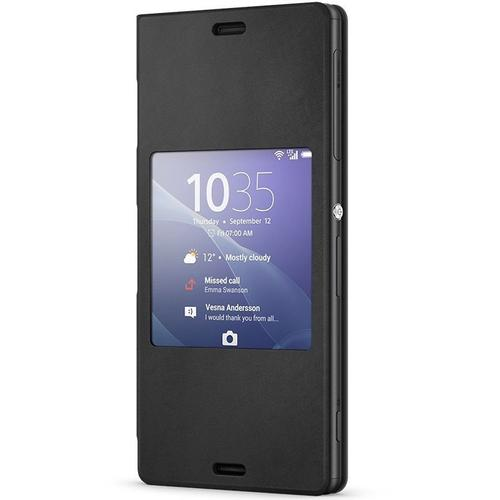 Sony Xperia Z3 Style Up Cover - Black
