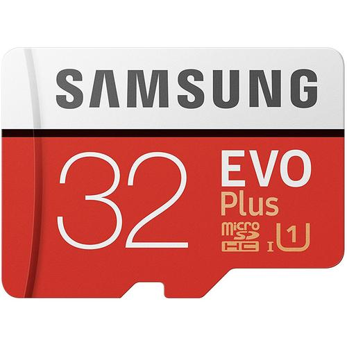 32gb micro sd karte Samsung 32GB Evo Plus Micro SD Karte (SDHC) UHS I U1 + Adapter