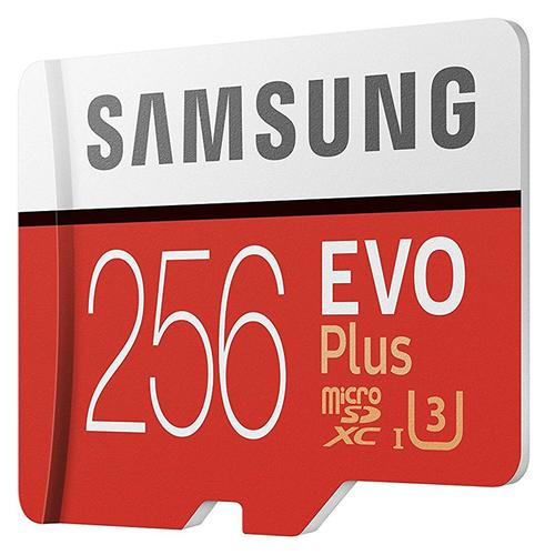 Samsung 256GB Evo Plus Micro SD Karte (SDXC) + Adapter - 95MB/s