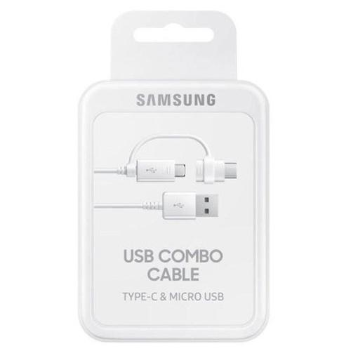 Samsung Micro USB and USB-C Combo Cable