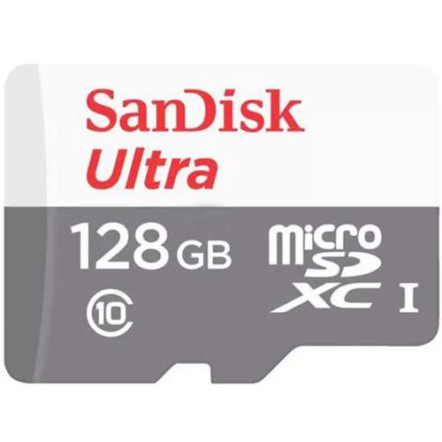 SanDisk 128GB Ultra Micro SD Card (SDXC) UHS-I + Adapter - 80MB/s