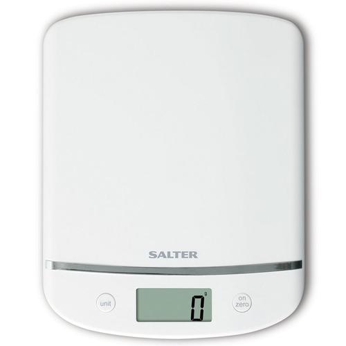 Salter Aquatronic Electronic Platform Scale - White