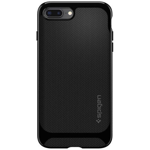 best website 81468 2c602 Spigen iPhone 8 Plus Case Neo Hybrid Herringbone - Shiny Black