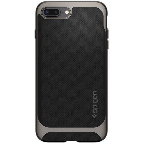 competitive price 26f55 eb05e Spigen iPhone 8 Plus Case Neo Hybrid Herringbone - Gunmetal