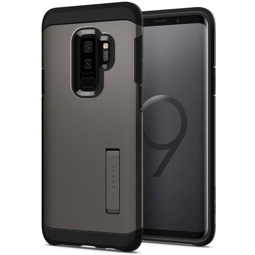Spigen Galaxy S9+ Case Tough Armor - Gunmetal