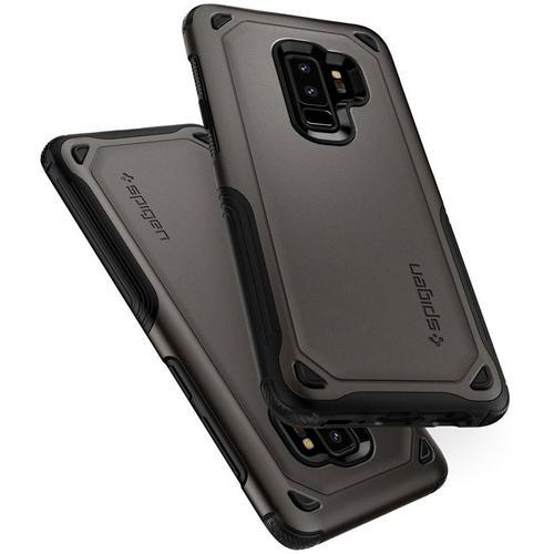 Spigen Galaxy S9 + Hülle Hybrid Rüstung - Rotguss
