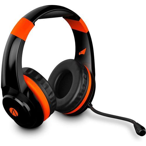 Stealth XP Raptor Multiformat Gaming Headset - Black/Orange