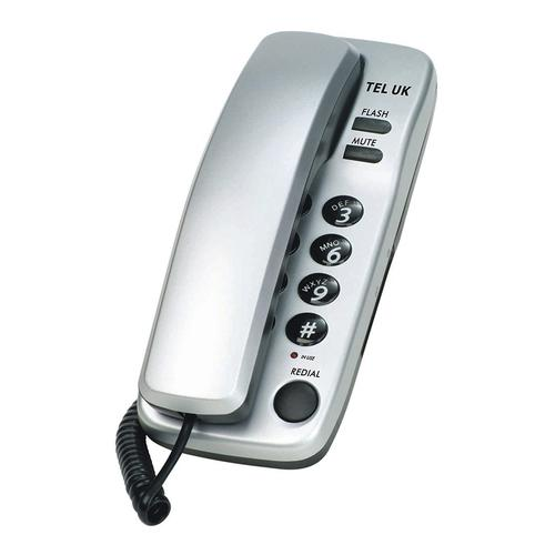 Tel UK Sorrento Two Piece Telephone - Silver