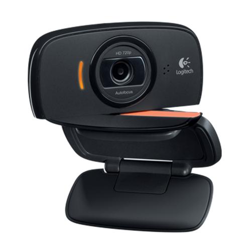 Logitech B525 2 Megapixel HD Webcam Built in Microphone (Black)
