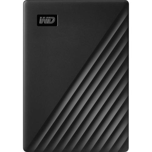 WD 4TB My Passport USB 3.2 External Hard Drive - Black