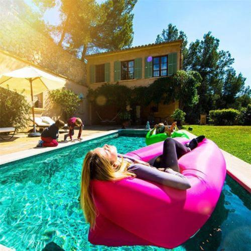 Anywhere Inflatable Lounger Indoor & Outdoor - Pink