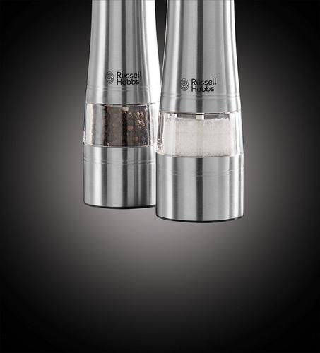 Russell Hobbs Salt And Pepper Grinder - Stainless Steel