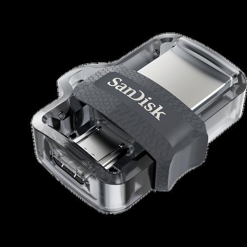 SanDisk 16GB Ultra Dual M3.0 OTG USB 3.0 Flash Drive - 130MB/s